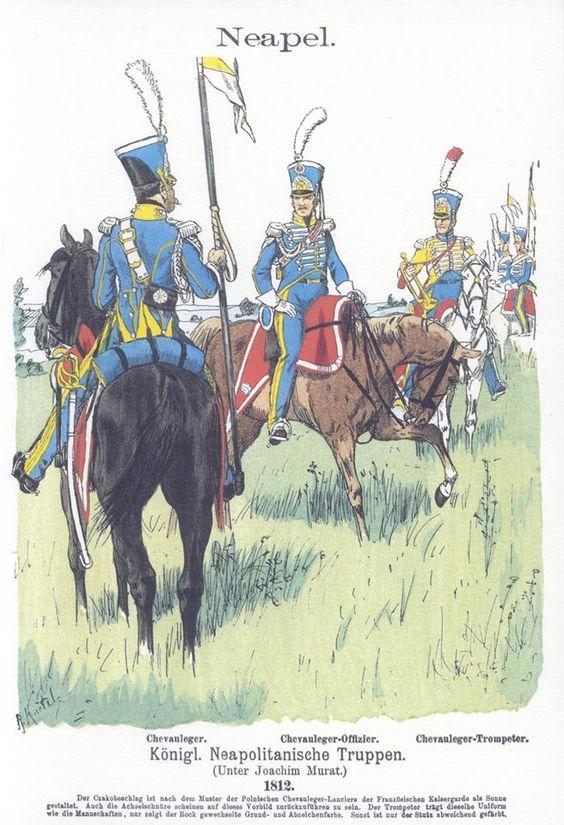 Band V #48.- Neapel. Königlich Neapolitanische Truppen. Chevauleger. 1812.