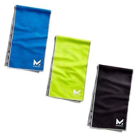 Mission Hydroactive On The Go Cooling Towel Sometimes You Just Need Instant Relief And This Towel Made With A Proprietary Cool Cooling Towels Mission Towel