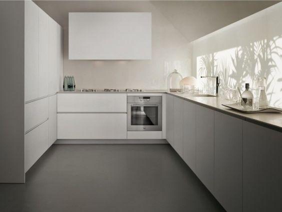 86, Virtuve  - küche ohne griffe