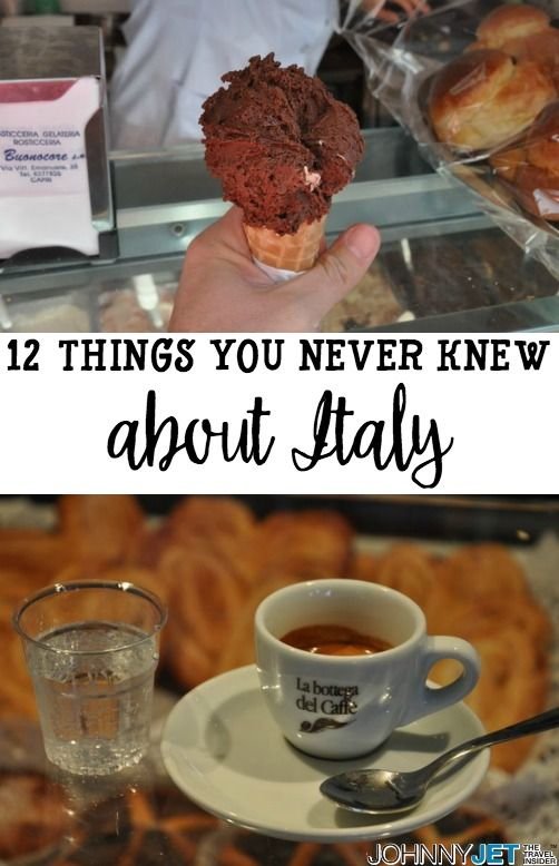 12 important things for every traveler to know before a trip to Italy.: