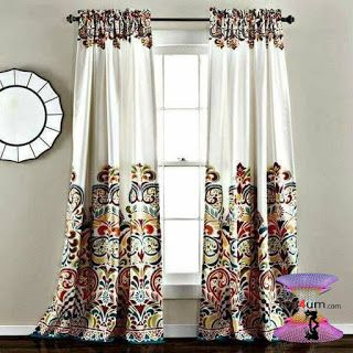 اشكال ستائر مودرن شيك وجديدة بأحدث موضة الستائر للعرسان Modern Curtains 2020 Panel Curtains Bohemian Style Rooms Rod Pocket Curtain Panels