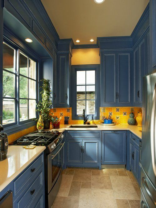 Blue And Yellow Kitchen Decor Fresh