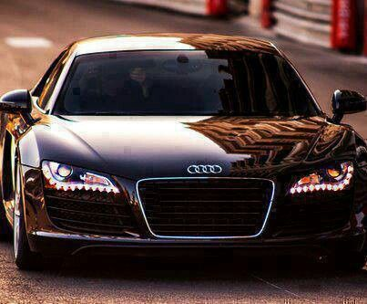 AUDI R8  Vroom Vroom! Ha!   Has to be any other color than black though!!!!