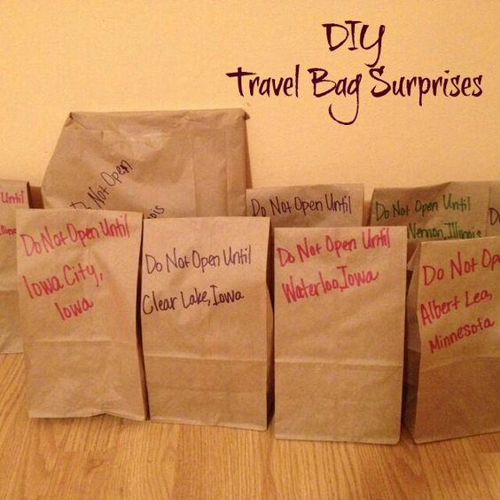 DIY Travel Surprise Bag for Road Trips with Kids