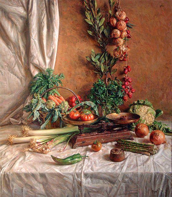 Antonio Guzman Capel - Spanish Hyperrealist Painter: