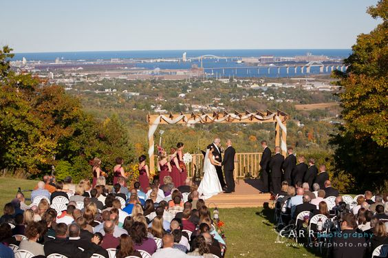 Spirit Mountain Wedding View- This Is Where My Ceremony