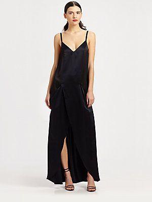 Kara Laricks Ava Slip Dress - Navy...   $568.00
