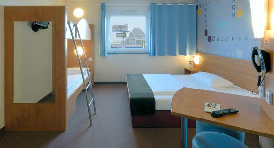 Familienzimmer für 4 Personen im B&B Hotel Mainz-Hechtsheim