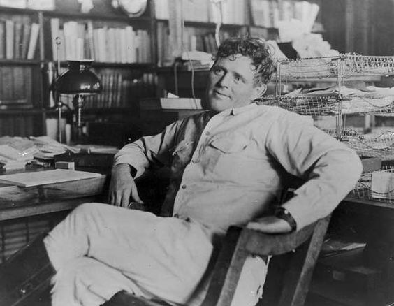 Jack London famous author desk, famous writing desks, writers at work, photos of writers