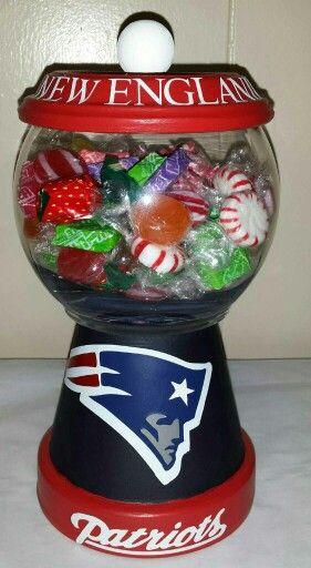 New England Patriots Candy Jar