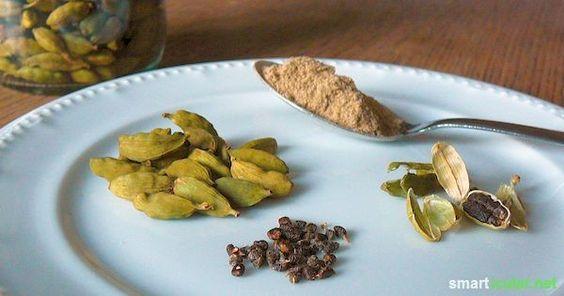 11 gesunde Anwendungen für Kardamom, das Supergewürz aus dem Orient