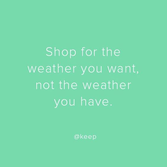 What season are YOU shopping for?
