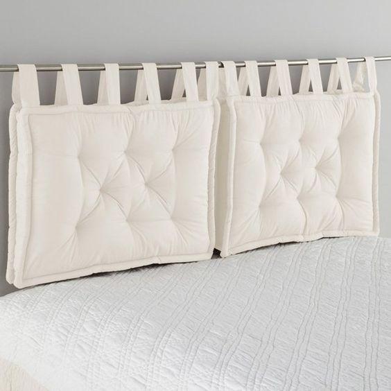 Coj n para cabecero de cama scenario super hazlo t - Cojines grandes cama ...