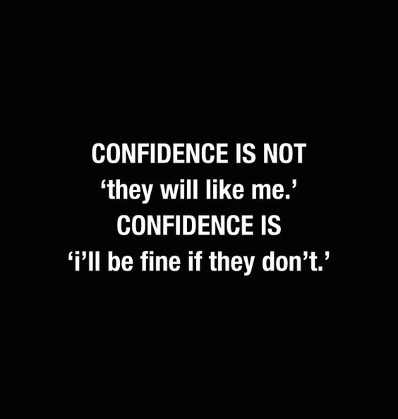 how to build my confidence
