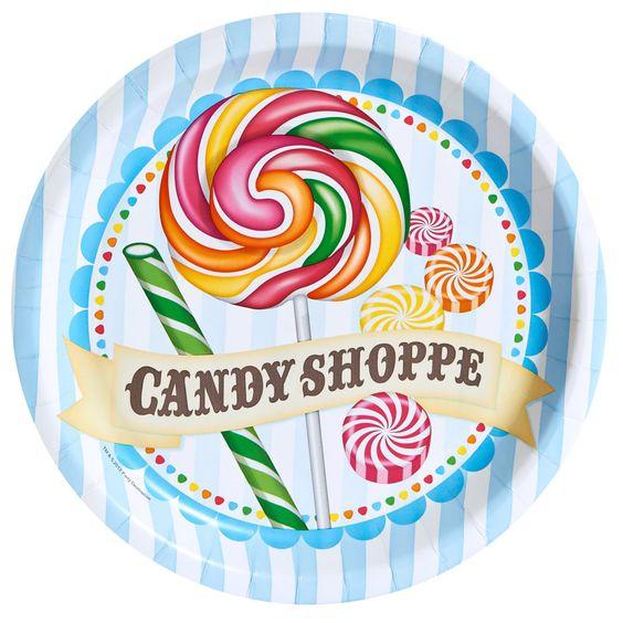 Thème d'anniversaire Candy shoppe pour votre enfant - Annikids