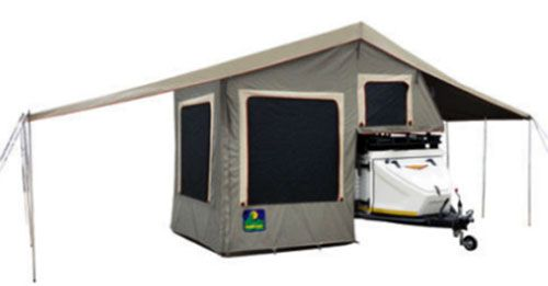 Review Of Trailer Tents Howling Moon Model Xt Trailer Tent Roof Top Tent Tent