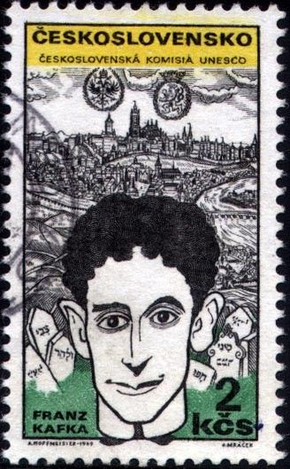 Resultado de imagem para selo de Franz Kafka
