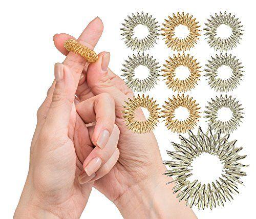 Spiky Sensory Finger Rings Pack Of 10 Great Fidget Https Www Amazon Com Dp B06xkd9wck Ref Cm Sw R Pi Fidget Toys Sensory Toys For Kids Sensory Toys