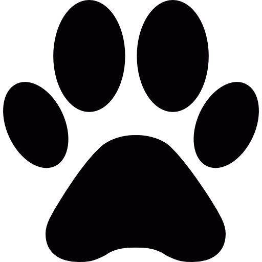 Dog Paw Free Vector Icons Designed By Freepik Dog Icon Animal Icon Paw Print