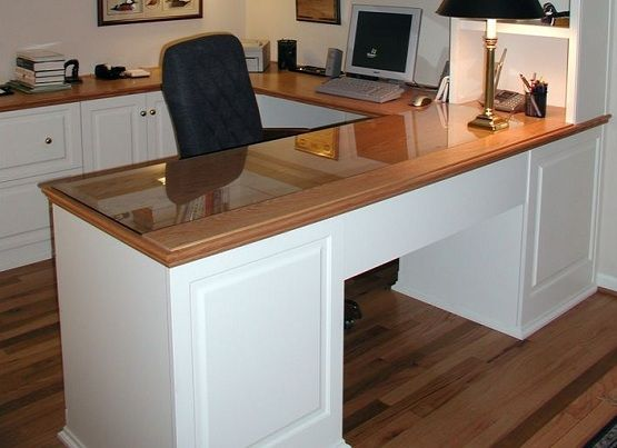 Custom U Shaped Desk For Home Office Home Desk Home Office Furniture Office Interiors