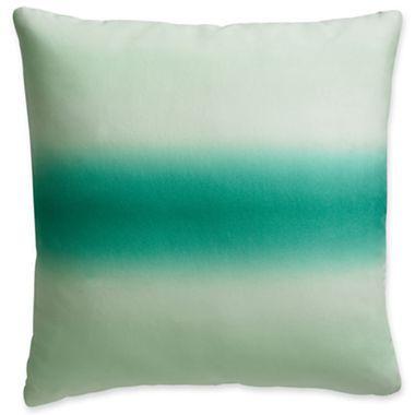PANTONE Universe™ Emerald Ombre Square Pillow - jcpenney