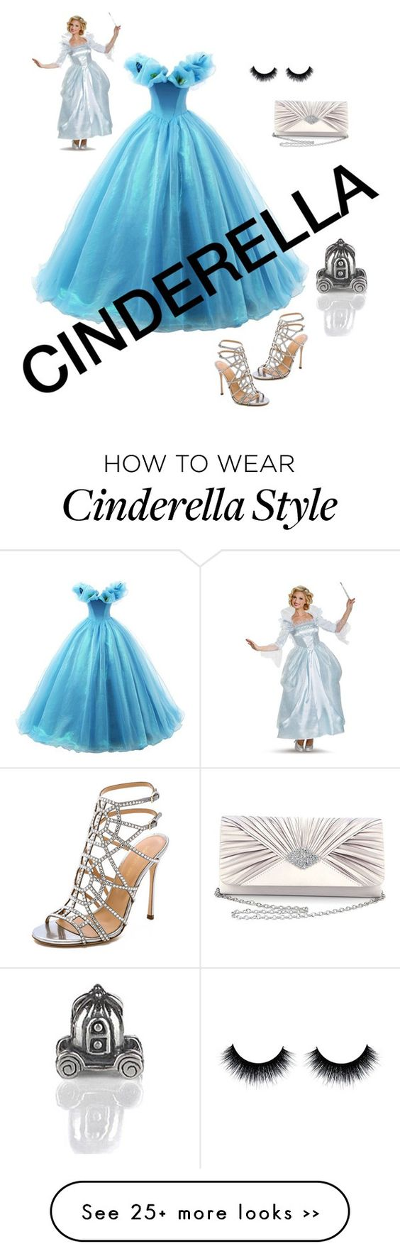 """""""Cinderella"""" by edenaya on Polyvore featuring Sasha, Sergio Rossi and Bling Jewelry"""