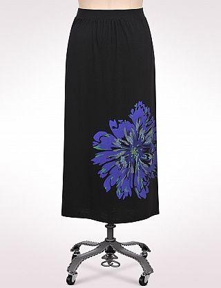 Embellished Floral Maxi Skirt | Dressbarn