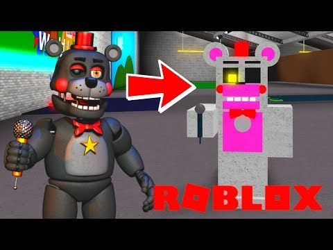 Creating And Becoming Funitme Fnaf 6 Animatronics In Roblox
