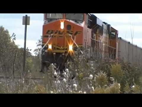 BNSF coal trains through Sussex WI