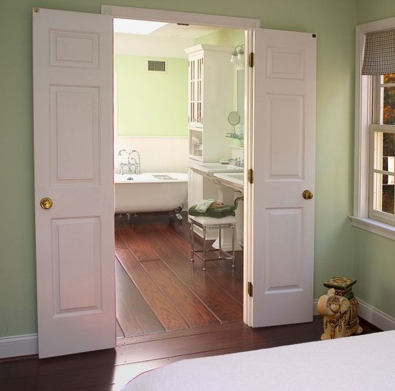 French Doors Going Into Bathroom Angie 39 S Pinterest Bath Tubs Bathroom Remodeling And