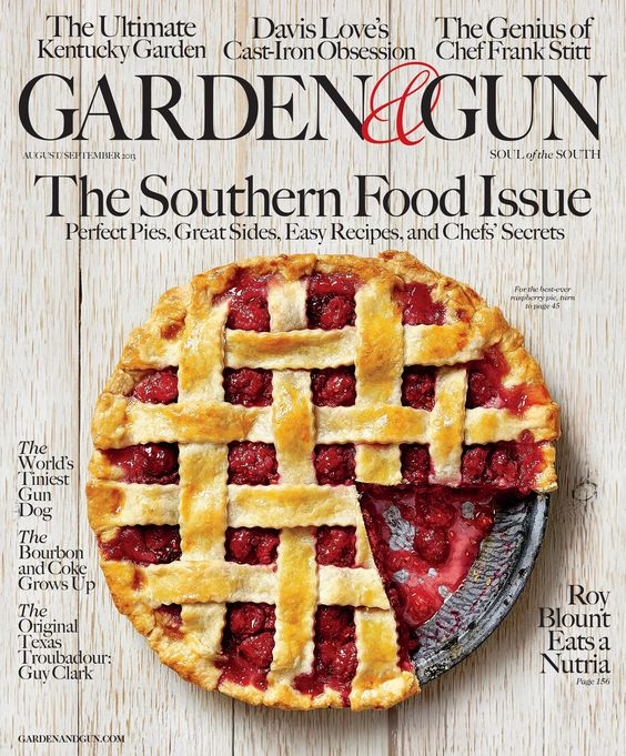 Garden Gun Magazine ASME Best Cover ContestMost Delicious