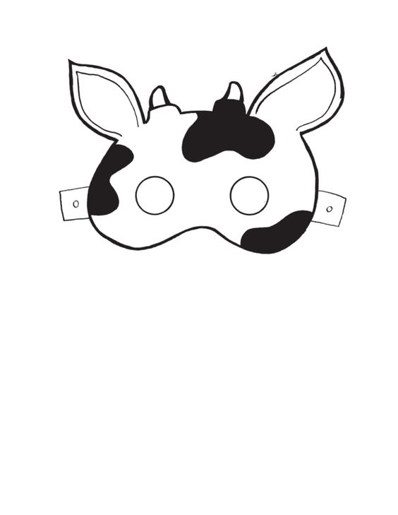 Dashing image intended for cow ears printable