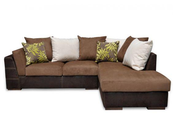 salones sofas chocolate - Buscar con Google