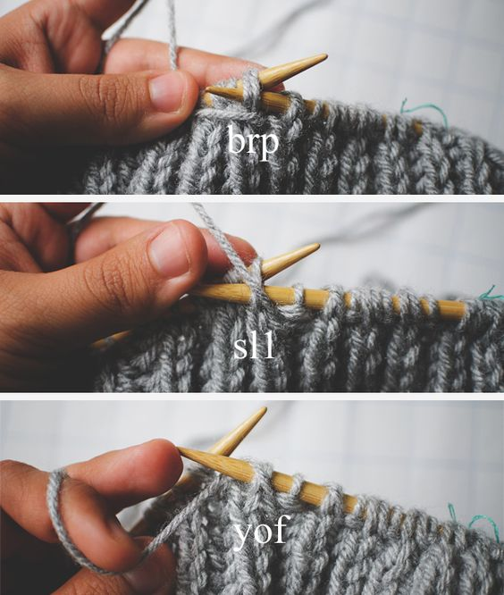 Double Knitting In The Round Tutorial : Brioche the round and knitting tutorials on pinterest