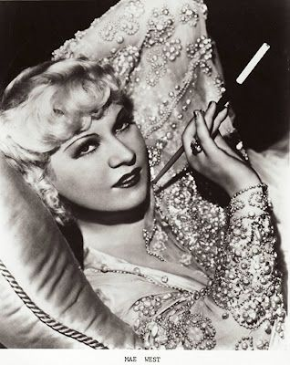 Smoking in Bed: Mae West