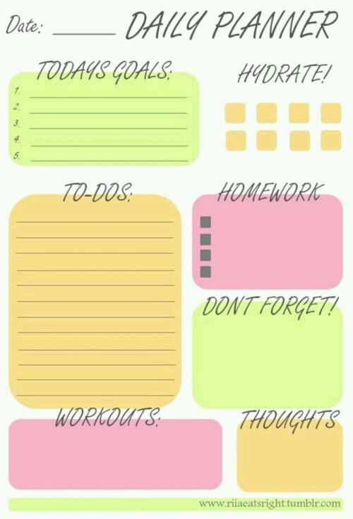 gym timetable u2026 School Pinterest Gym, Students and Planners - study timetable