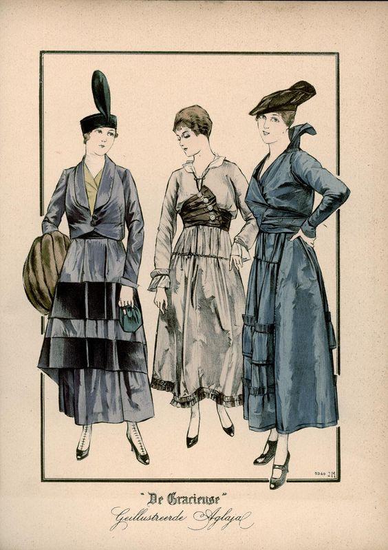 Gracieuse. Geïllustreerde Aglaja, 1915, aflevering 22, pagina 16/3