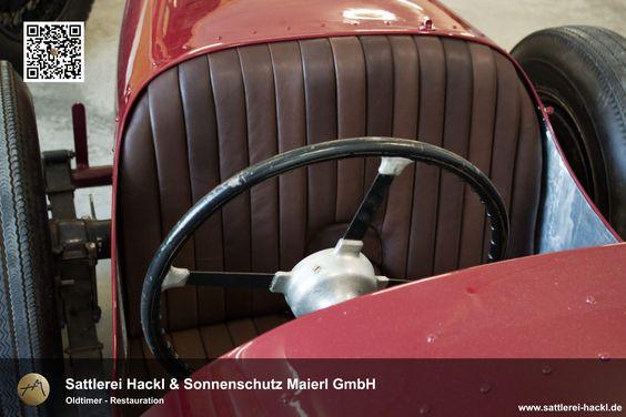 #Oltimer #Oldtimer-Sitzbezug #Sitzbezug #Autoinnenausstattung #Autoleder #Polsterarbeiten #Restauration #Neubezug