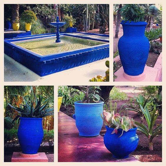 jardin de majorelle marrakech ysl bleu majorelle pinterest marrakech. Black Bedroom Furniture Sets. Home Design Ideas