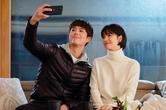 """Park Bo Gum And Song Hye Kyo Enjoy A Romantic Date At Home On """"Encounter"""""""