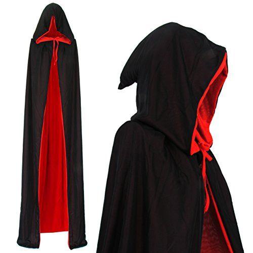 Marron à capuche Cape Kids Fancy Dress SORCIER JEDI Cape Enfant Costume Accessoire