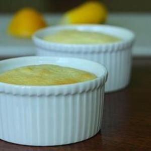 This Lemon Budino is a gooey, light marriage between pudding and cake. It makes an exceptionally refreshing dessert for any holiday meal (or any night of the year). From @Cara / Big Girls, Small Kitchen, found at www.edamam.com.