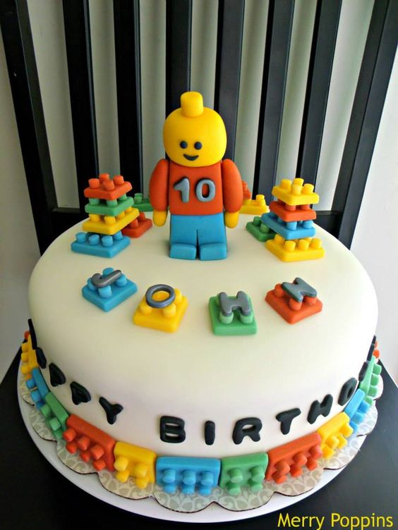 Lego torte lego and kuchen on pinterest for Jungen torte