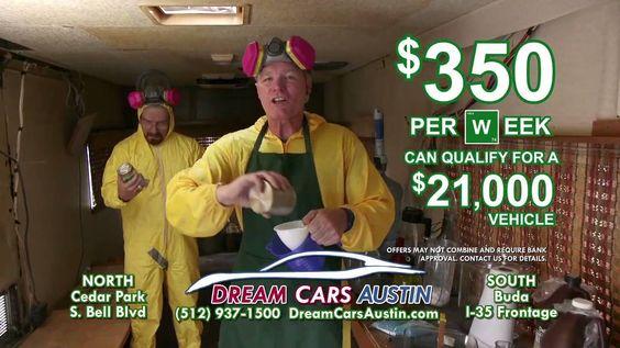 Breaking Bad Credit | Dream Cars Austin