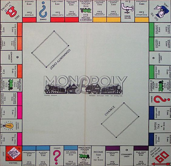 Monopoly Board Locations - Take Photographs at each Location / Street Sign! (My Wonderful Husband wants to do a Monopoly Board Pub Crawl!)  Photo courtesy of  Mark\'s Rants, Raves And Other Things ;)