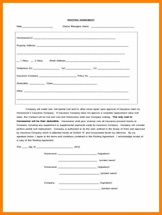 form u templates templatepng loan application roofing Roofing - medical information release form