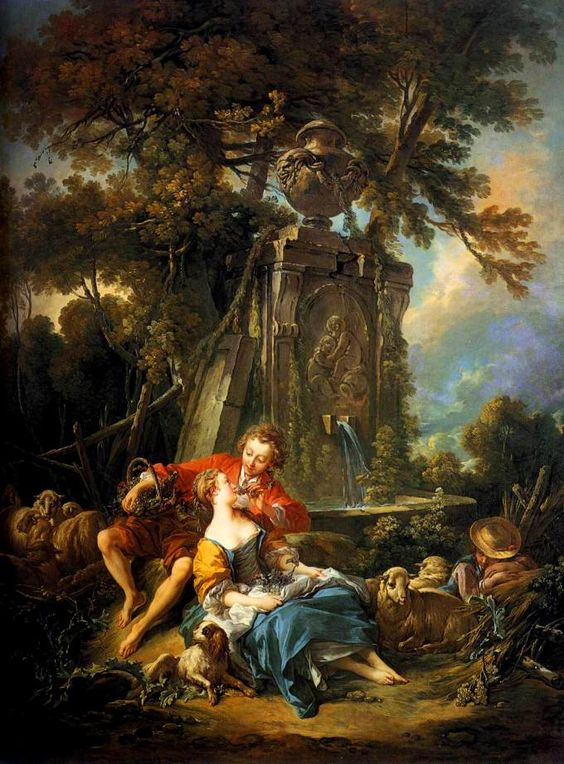 an analysis of the form of the painting autumn by francois boucher Eighteenth-century french painter françois boucher (1703-70) venus and mercury  were almost always irregular in shape, as can be seen, for instance, in the.