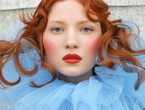 red hair great makeup