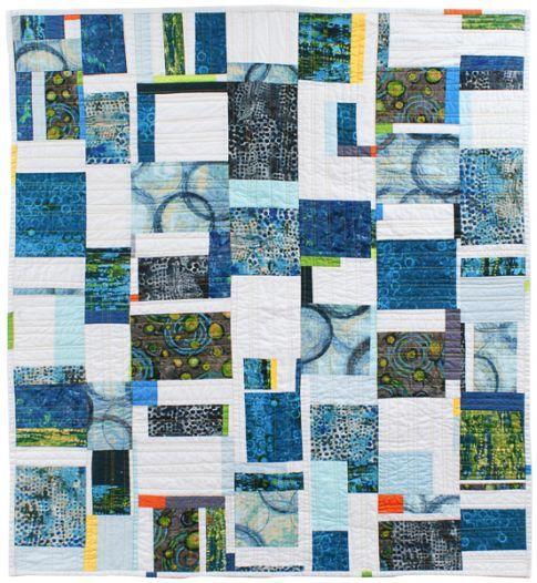 Continuum Free Pattern: Robert Kaufman Fabric Company - Free pattern!