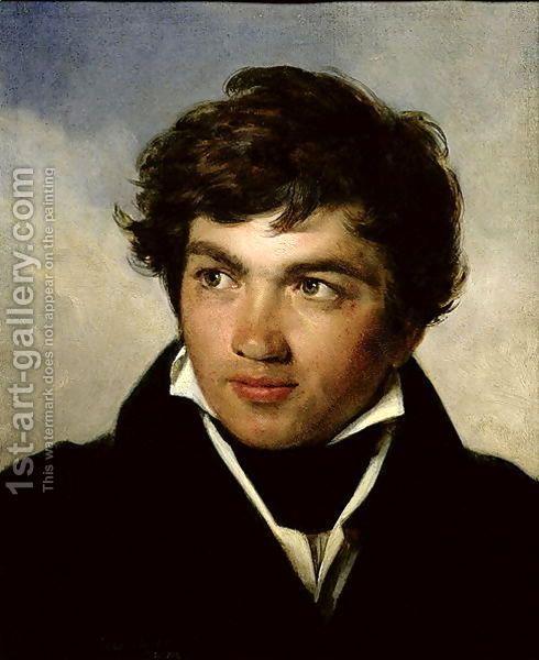 Coignait, Portrait of Achille-Etna de Michallon, 1818-19